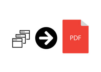 How to Scan multiple pages into one PDF?