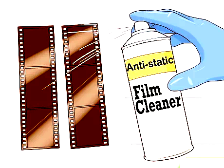 How to clean Negative film strips and Slides?